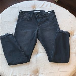 Jessica Simpson cropped ankle skinny jeans